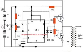 v inverter wiring diagram v discover your wiring diagram mos fet inverter schematic