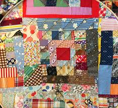 WIP Wednesday — Crazy Courthouse Steps Vintage Quilt Top – Q is ... & Crazy-Courthouse-Steps-Vintage-Quilt-Top-Redo-quilting- Adamdwight.com