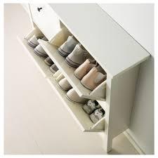 Shoe Rack Ikea Hemnes Shoe Cabinet With 4 Compartments White 107x101 Cm Ikea