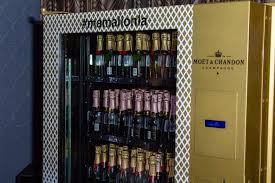 Champagne Vending Machine Best Moët Mini Champagne Vending Machines Arrive In Los Angeles