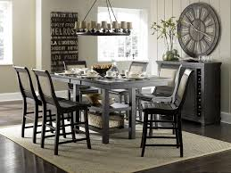 Distressed Black Kitchen Table Progressive Furniture Willow Dining Distressed Finish Rectangular