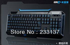 2013 new usb wired waterproof gamer keyboard for world of dota 2