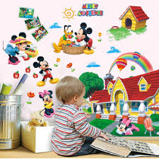 package 1 3d mickey mouse clubhouse wall sticker