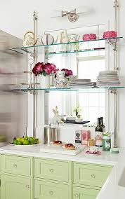 love this french bistro shelving a collection of design ideas for no window over the
