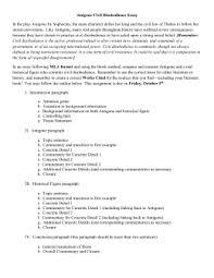 antigone themes antigone civil disobedience essay in the play antigone by