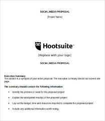Social Media Proposal Template Free 9 Sample Proposal Templates In Pdf Word