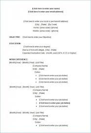 Narrative Resume Samples Free Military Resume Template Examples