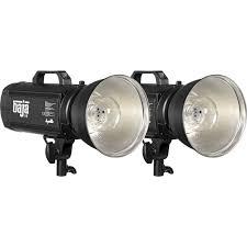 dynalite baja b6 battery powered 2 light kit with case