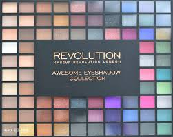 100 eyeshadow collection the other day makeup revolution palette s and smoked collection