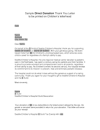 Fundraising Thank You Letter Magdalene Project Org