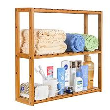 homfa bathroom shelves 3 tier wall