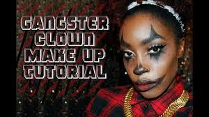 gangster clown make up for dark skin chrisspy inspired