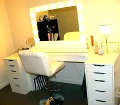 bedroom vanity set with lights
