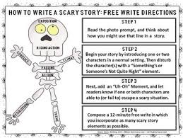 scary story writing by ela seminar gal teachers pay teachers scary story writing 101