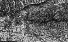 Limpsfield Chart Map Of Limpsfield Chart 1895 Francis Frith