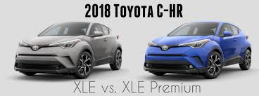 2018 toyota models. 2018 toyota chr model comparison models