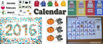 Preschool And Kindergarten Calendar Activities And Printables | Kidssoup
