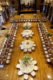 wedding reception table layout ideas a mix of rectangular and