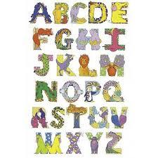 Animal Abc Chart New Educational Children Animal Alphabet Abc Chart Wall