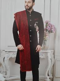 Jodhpuri Jackets Indian Designers Men Indian Styled Smart Look Jodhpuri Suit With Dupatta