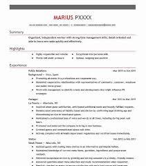 Examples Of Public Relations Resumes Best Public Relations Resume Example Livecareer
