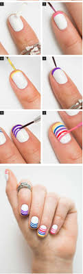 Rainbow nail art ideas for the summer – techniques and tutorials