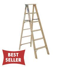 michigan tradesman wood stepladder