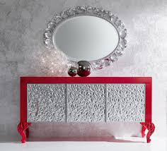 high end modern furniture brands. luxury silver and red sideboard for living room modern furniture set high end brands o