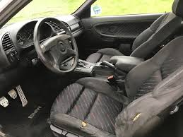 for is my garage kept 1994 bmw mtechnic 325is it is alpine white on black m clothe rain with 155 650 miles it is in mostly stock condition with an