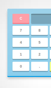 make a calculator using javascript and css description
