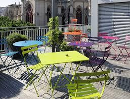 Sedie Pieghevoli Francesi : Scopri sedia bistro pieghevole miele di fermob made in design