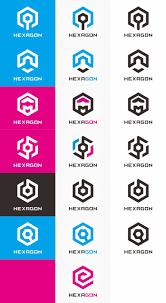 Hexagon Logo Bundle by Logolea on Creative Market. Get it now for $29!