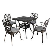 luxury outdoor furniture cast aluminium
