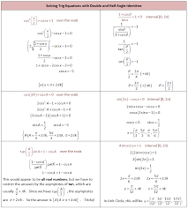 worksheets for all and share worksheets free on trig equations