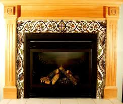 Decorations:Modern Fireplace Decorating With Artwork Tile Fireplace  Surround Ideas Best 25+ Fireplace Decorating