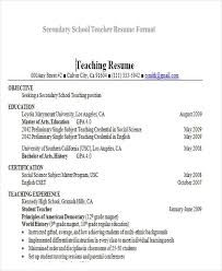 28+ Teacher Resume Templates Download | Free & Premium Templates  with When