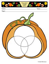 Pumpkin Venn Diagram Pumpkin Triple Venn Diagram