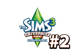 the sims university life НАКОЛДОВЫВАЕМ ДИПЛОМ Серия  the sims 3 university life НАКОЛДОВЫВАЕМ ДИПЛОМ 2 Серия