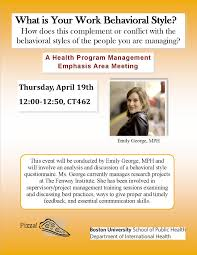 what is your work behavioral style an hpm emphasis area meeting what s my behavioral style