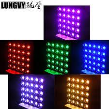 <b>6pcs lot</b> 5*5 DMX 25*30W LED Matrix RGB Blinder <b>Light</b> ...