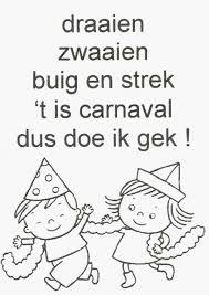 Kleurplaten Carnaval Bergen Op Zoom