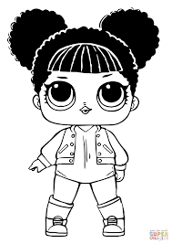 Coloring Pages For Girls Lol Dolls