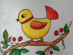 Small Picture bird drawing for kids YouTube