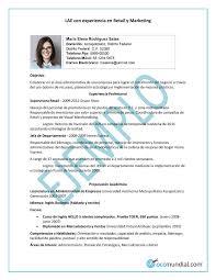 Hacer Resume Cómo Hacer Un Currículum Este 24 17