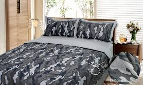 Camouflage Army Camo bedding sets king queen full size pure cotton adult Childrens Bedding Sets 4 pcs