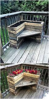 outdoor pallet wood. Pallet Wood Planter Idea Outdoor