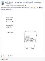 best rupi kaur poems from meme groups