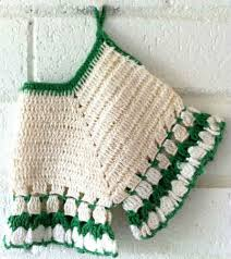 Free Crochet Potholder Patterns Beauteous Vintage Bloomers Potholder Free Crochet Pattern