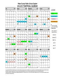 School Calendar 2015 16 Printable Wcpss Tradi Fill Online Printable Fillable Blank