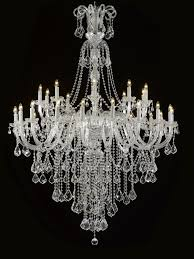 swarovski crystal trimmed chandelier chandeliers crystal